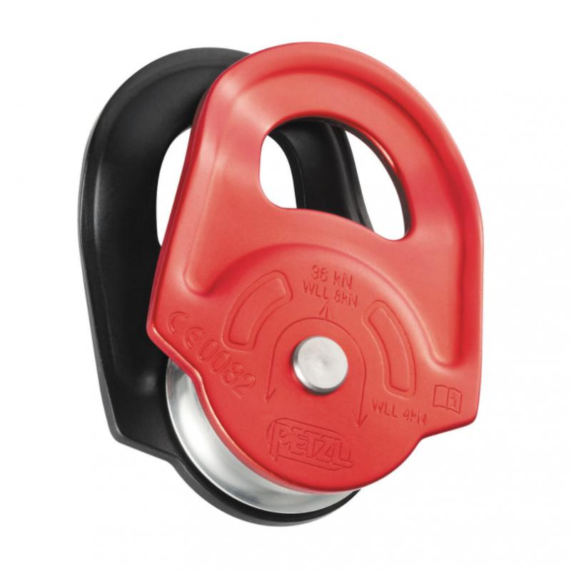 RESCUE, High strength, very high efficiency pulley