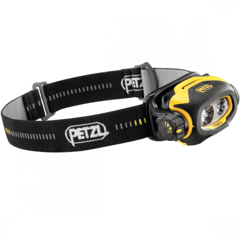 PIXA® 3 (HAZLOC), Headlamp for use in ATEX explosive environments, suitable for proximity lighting, movement and long-range vision. 100 lumens
